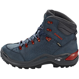 Lowa Renegade GTX 20 Mid Shoes Men navy/copper